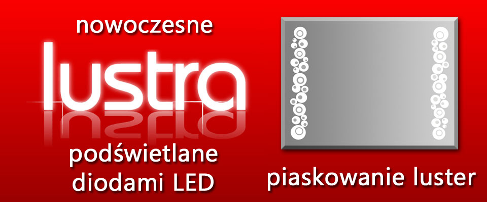 Motglass Producent Luster Do Domu Podświetlane Lustra Led